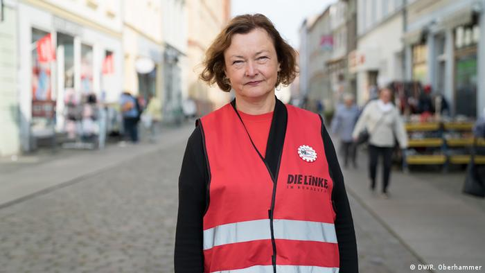 The Left Party's Kerstin Kassner (DW/R. Oberhammer)