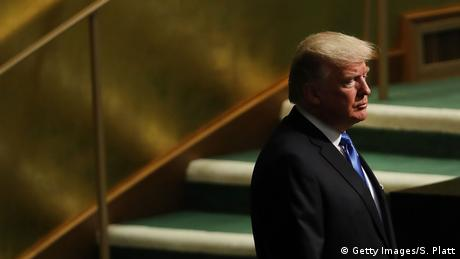 Trump's first speech at the UN General Assembly (Getty Images/S. Platt)