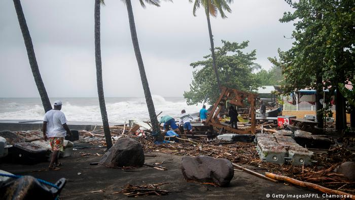 Hurrikan Maria | Martinique (Getty Images/AFP/L. Chamoiseau)