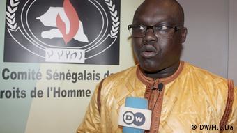 Pape Sene Senegal Kommitee Menschenrechte
