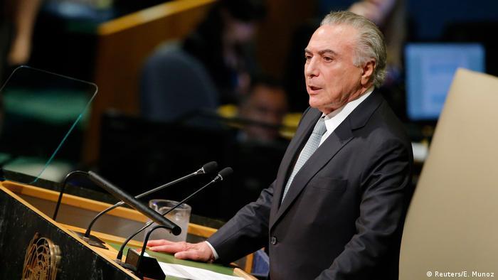 Temer discursa na ONU: presidente aproveitou para defender velhas bandeiras da diplomacia brasileira