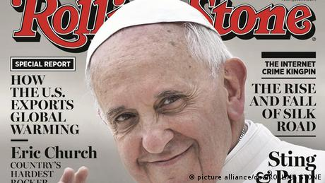 Papst Franziskus auf Rolling Stone-Cover (picture alliance/dpa/ROLLING STONE)