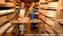 Frankreich Käserei in den Savoyen