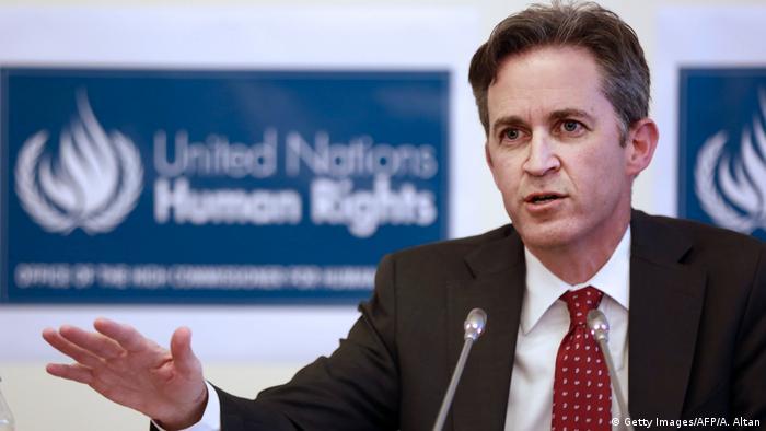 David Kaye, UN-Sonderbeauftragter für Meinungsfreiheit
