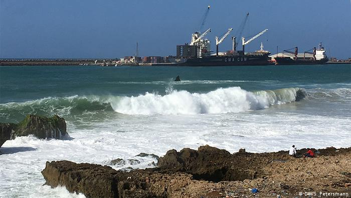 Der Hafen von Mogadischu, Somalias Hauptstadt