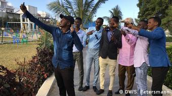 Somalia Mogadischu | Friedenspark, Selfie