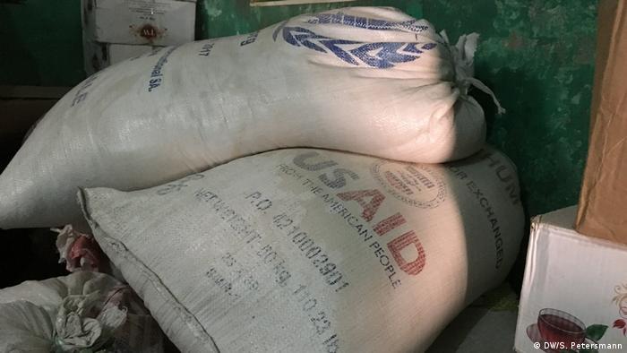 Somalia Mogadischu | Hilfsgüter des WFP & USAID