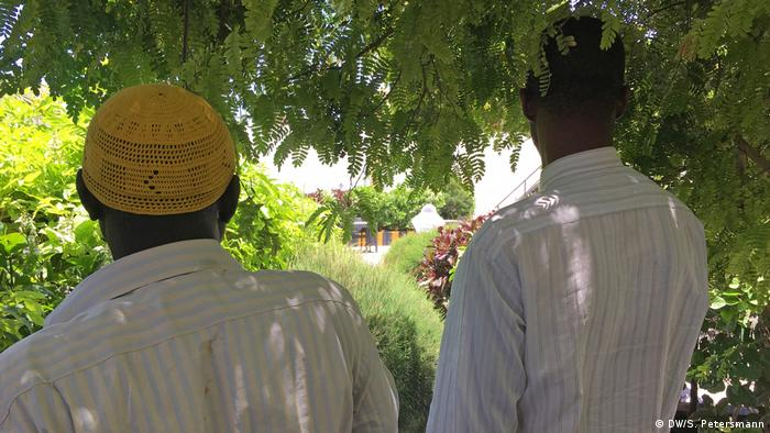 Somalia | Former al Shabab fighters (DW/S. Petersmann)