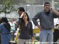 Жителі Мехіко тікали з офісів і житлових будинків