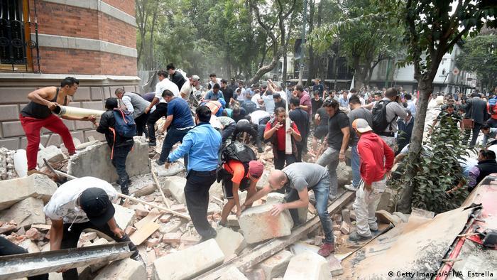 Terremoto na Cidade do México