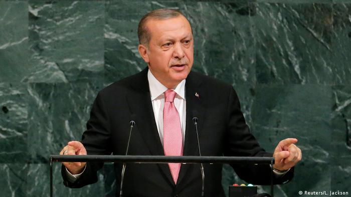 Präsident Erdogan vor der UN-Vollversammlung