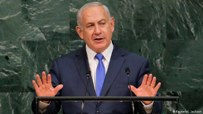 Premierminister Netanyahu vor der UN-Vollversammlung (Reuters/L. Jackson)