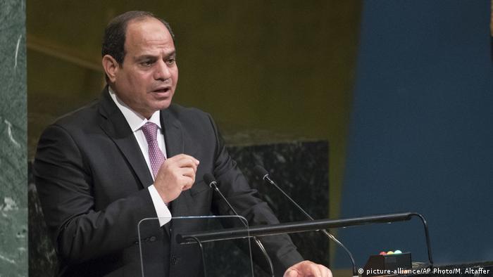 Präsident Abdel Fattah Al Sisi vor der UN-Vollversammlung