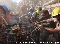 После нового землетрясения в Мексике