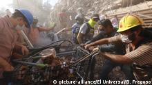 Mexiko Erdbeben Mexiko Stadt