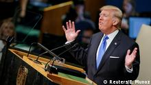 Trump UN Rede in New York