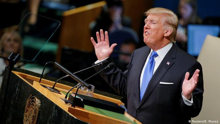 Trump UN Rede in New York
