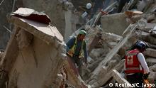 Mexiko Suchmanschaften nach dem Erdbeben in Mexico City