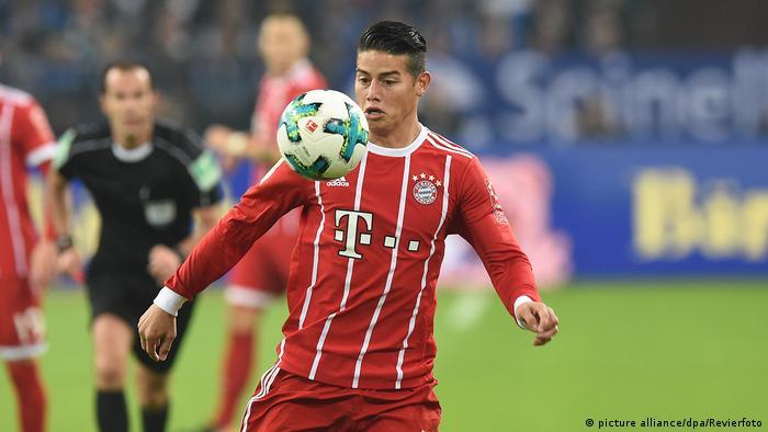 Fußball FC Schalke 04 - FC Bayern München James Rodriguez (picture alliance/dpa/Revierfoto)