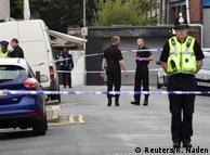 Місце затримання підозрюваних у причетності до вибуху