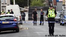 Großbritannien Antiterror-Razzia in Newport, Wales