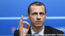 UEFA-Chef Aleksander Ceferin