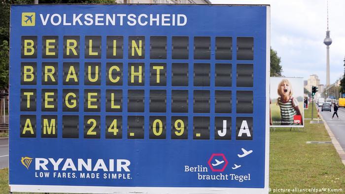 Berlin referendum over Tegel airport