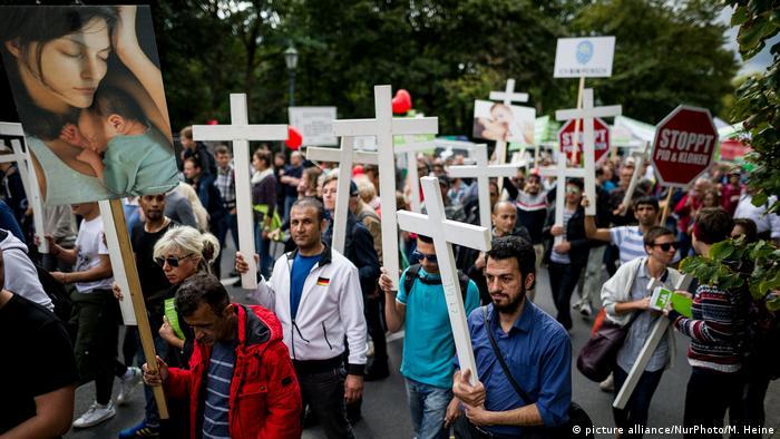 Anti-abortion March for Life participants (picture alliance/NurPhoto/M. Heine)