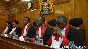 Kenia Oberstes Gericht Annullierung der Präsidentschaftswahl