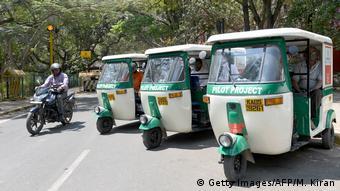 Indien Elektro-Rikscha