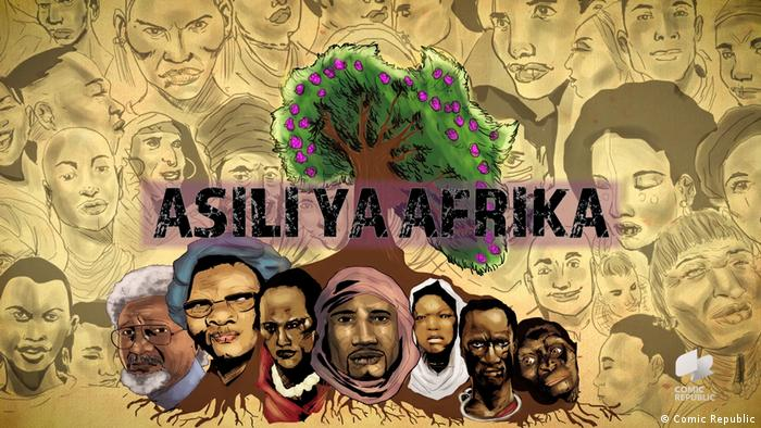 KV African Roots KIS (Comic Republic)