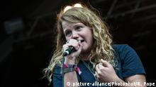 Kate Tempest britische Rapperin (picture-alliance/Photoshot/R. Pope)