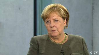 Deutschland wählt DW Interview mit Angela Merkel (DW)