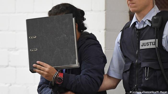 Deutschland Prozess um Entführung eines UN-Mitarbeiters   Der Angeklagte Syrer