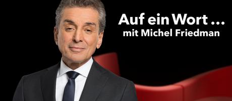 DW Auf ein Wort… mit Michel Friedman (Sendungslogo)