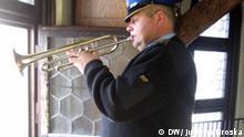 Krakau Trompetenspieler Krzysztof Daniel