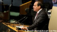 USA UN Vollversammlung in New York Abdel Fattah al-Sisi