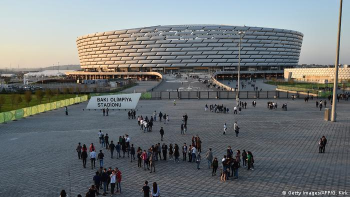 Aserbaidschan Stadion von Baku (Getty Images/AFP/G. Kirk)