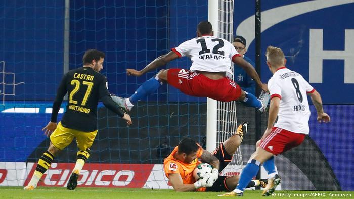 Fußball Bundesliga Hamburger SV - Borussia Dortmund
