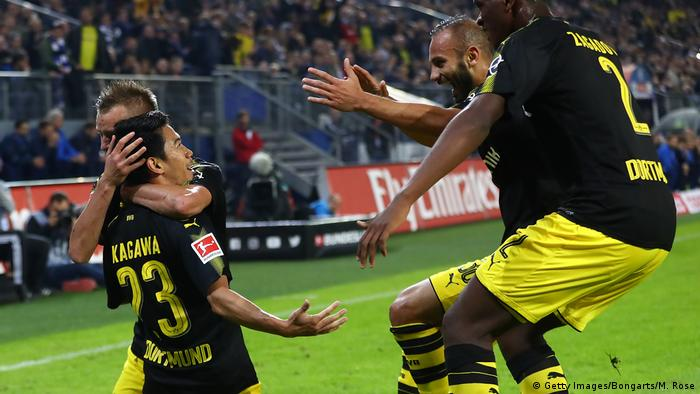 Fußball Bundesliga Hamburger SV - Borussia Dortmund (Getty Images/Bongarts/M. Rose)
