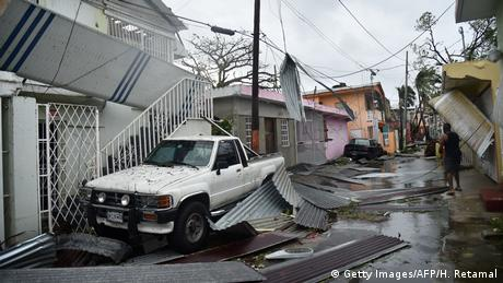 Puerto Rico Hurrikan Maria (Getty Images/AFP/H. Retamal)