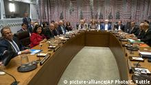 UN-Treffen zu Konflikt USA - Iran (picture-alliance/AP Photo/C. Ruttle)