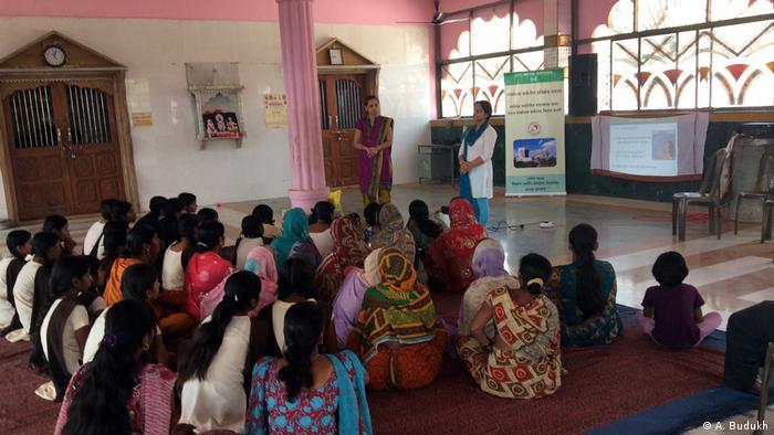 Indien Forschungsstudie Gebärmutterhalskrebs