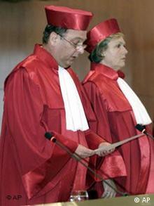 Urteil im Verfahren über das Verbot des Schächtens