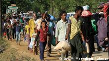 Bangladesch Biometrische Registrierung von Rohingya-Flüchtlinge