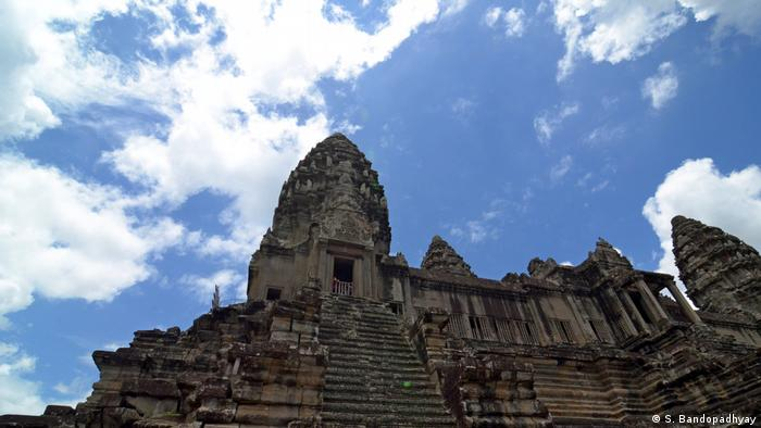 A temple in Angkor Wat