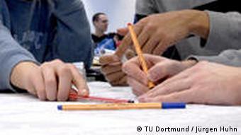 Studierende der Technischen Universität Dortmund