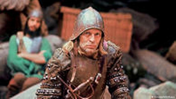 Klaus Kinski em Aguirre, a cólera dos deuses (Kinowelt/Arthaus)