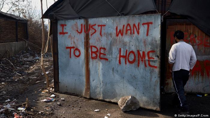 Afghanische Flüchtlinge in Serbien (Getty Images/P.Crom)