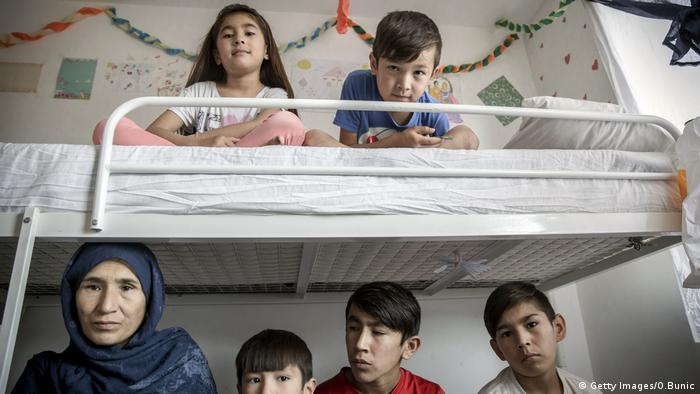 Afghanische Flüchtlinge in Serbien (Getty Images/O.Bunic)